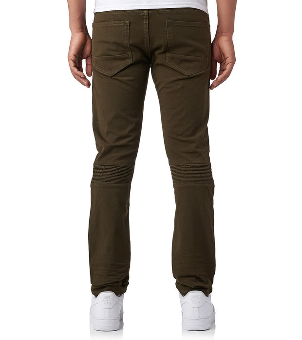 Decibel  STRETCH TWILL FASHION PANTS - L34  Green - FW18634L34-OLV | Jimmy Jazz