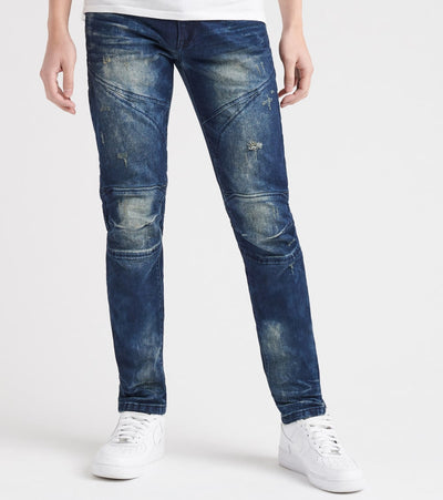 Decibel  Everyday Biker Jean - L32  Blue - FW18840L32-SBL | Jimmy Jazz