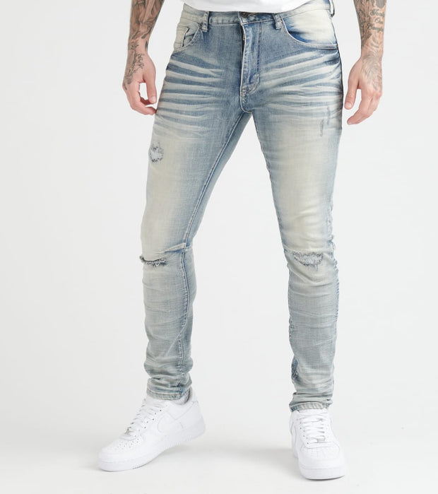 Decibel  Super Stretch Jeans - L32  Blue - FW19720L32-LTB | Jimmy Jazz