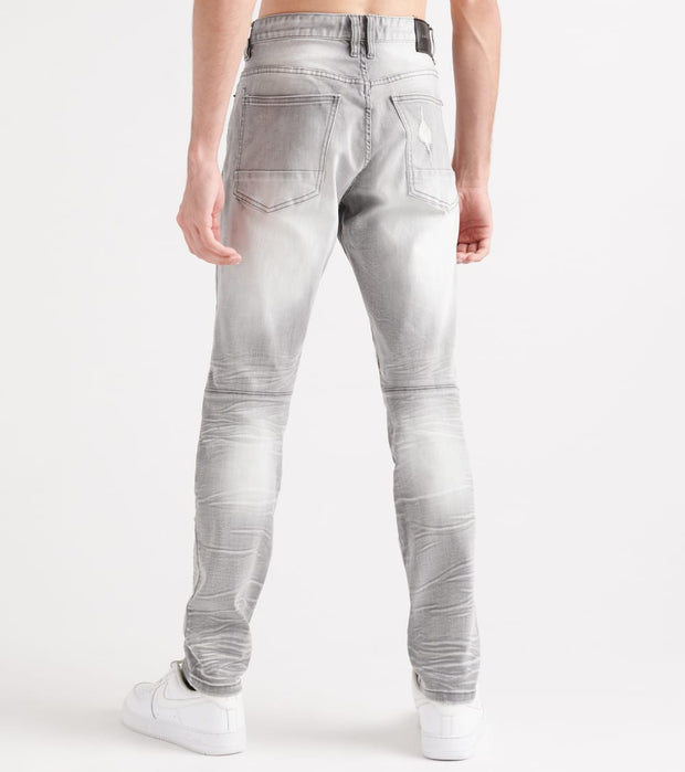 Decibel  Slim Knee Repair Jeans - L32  Grey - FW19941L32-GRY | Jimmy Jazz