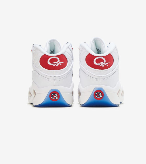 Reebok  Question Mid  White - FY1018 | Jimmy Jazz