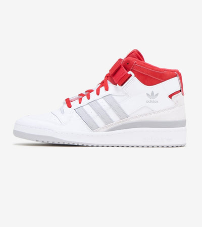 Adidas  Forum Mid  White - FY6819 | Jimmy Jazz