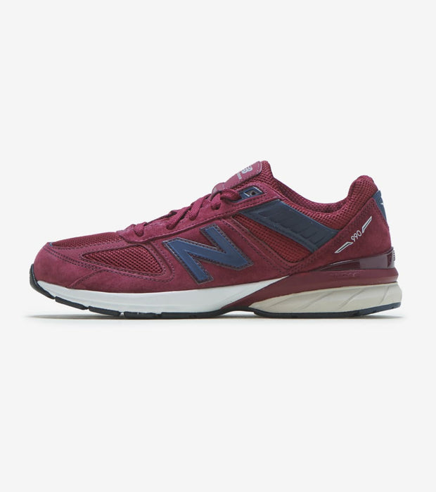 New Balance  990V 5  Burgundy - GC990BU5 | Jimmy Jazz