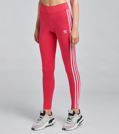Adidas  3 Stripes Leggings  Pink - GD2369-690 | Jimmy Jazz