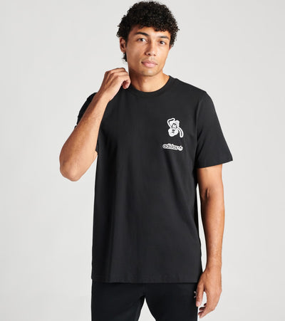 Adidas  Goofy Tee  Black - GD6024-001 | Jimmy Jazz
