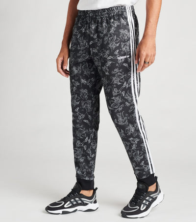 Adidas  Goofy SST Track Pants  Black - GD6028-001 | Jimmy Jazz
