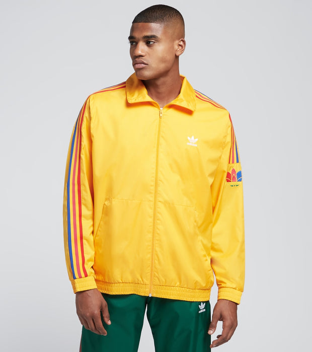 Adidas  3D 3 Stripe Track Jacket  Gold - GE0848-714 | Jimmy Jazz