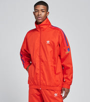 Adidas  3D Trefoil Track Top  Red - GE6248 | Jimmy Jazz