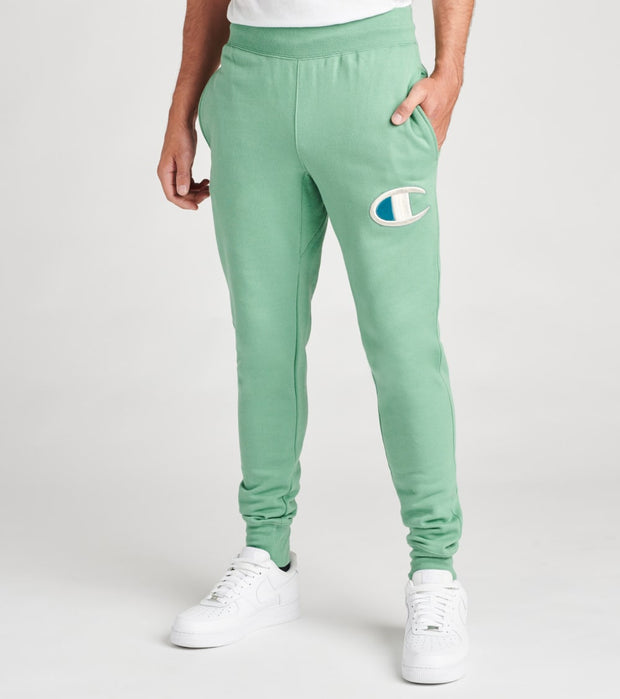 Champion  Reverse Weave Joggers  Green - GF01586048-8QZ | Jimmy Jazz