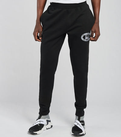 Champion  Reverse Weave Joggers With Tonal Cap  Black - GF01586340-BKC | Jimmy Jazz