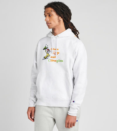 Champion  Dr Seuss Reverse Weave Pullover Hoodie  Grey - GF68551326-1IC | Jimmy Jazz