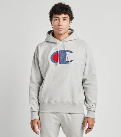 Champion  Reverse Weave Pullover Hoodie  Grey - GF68586020-1IC | Jimmy Jazz