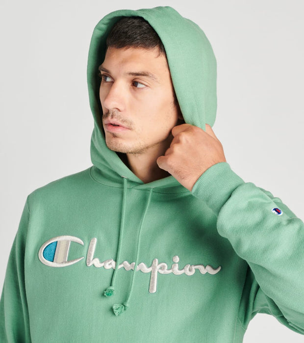 Champion  Reverse Weave Pullover Hoodie  Green - GF68586047-8QZ | Jimmy Jazz