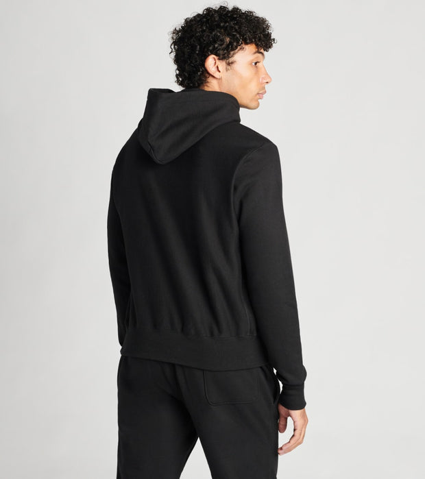 Champion  Reverse Weave Pullover Hoodie  Black - GF68586047-BKC | Jimmy Jazz
