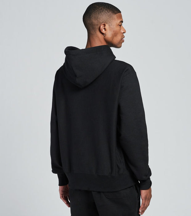 Champion  Bowser Reverse Weave Pullover Hoodie  Black - GF68590039-BKC | Jimmy Jazz