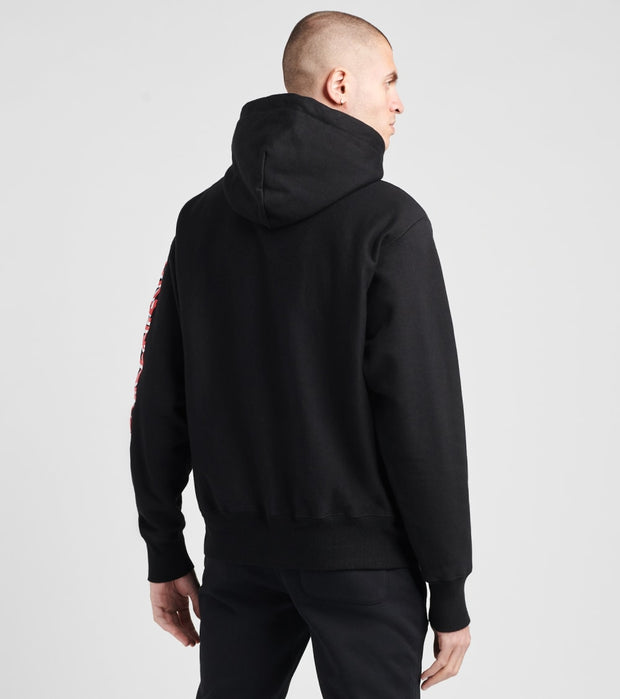 Champion  Mario Reverse Weave Pullover Hoodie  Black - GF68590040-BKC | Jimmy Jazz