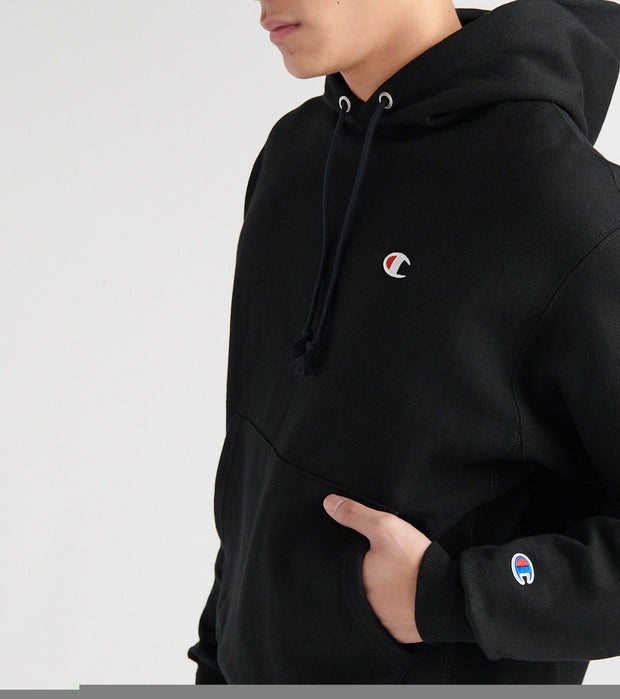 Champion  Reverse Weave Pullover Hoodie  Black - GF68Y06145-BKC | Jimmy Jazz