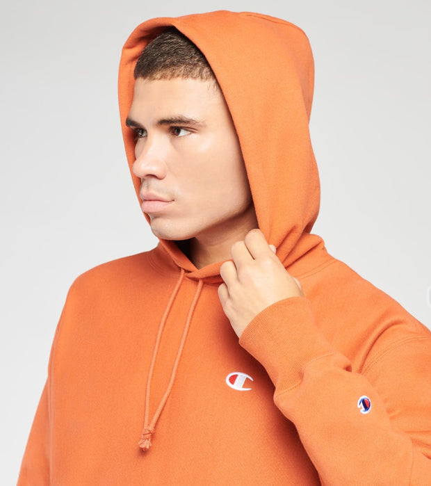 Champion  Reverse Weave Pullover Hoodie  Orange - GF68Y06145-TSX | Jimmy Jazz