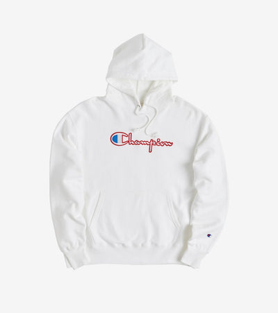 Champion  Reverse Pullover Hoodie  White - GF68Y07469-WHC | Jimmy Jazz