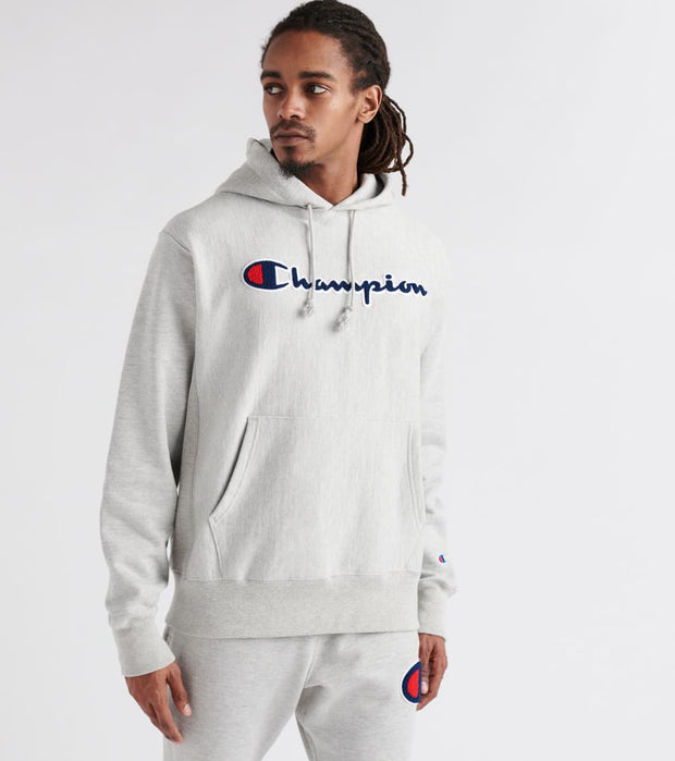 Champion  Reverse Weave Pullover Hoodie  Grey - GF68Y07470-1IC | Jimmy Jazz