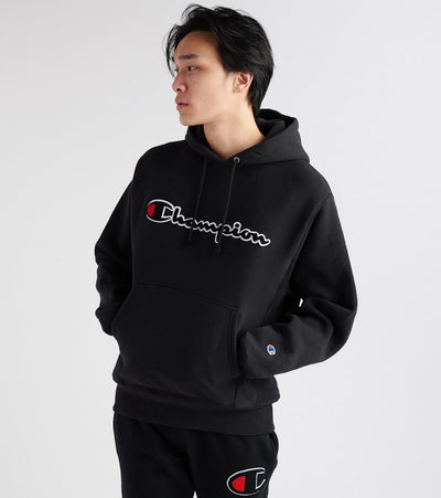 Champion  Reverse Weave Pullover Hoodie  Black - GF68Y07470-BKC | Jimmy Jazz
