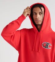 Champion  Reverse Weave Hoodie Sublimated   Red - GF68Y07472-2WC | Jimmy Jazz