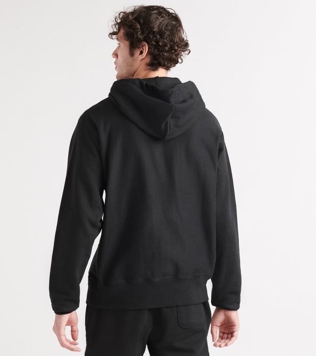 Champion  Reverse Weave Old English Hoodie  Black - GF68Y07986-BKC | Jimmy Jazz