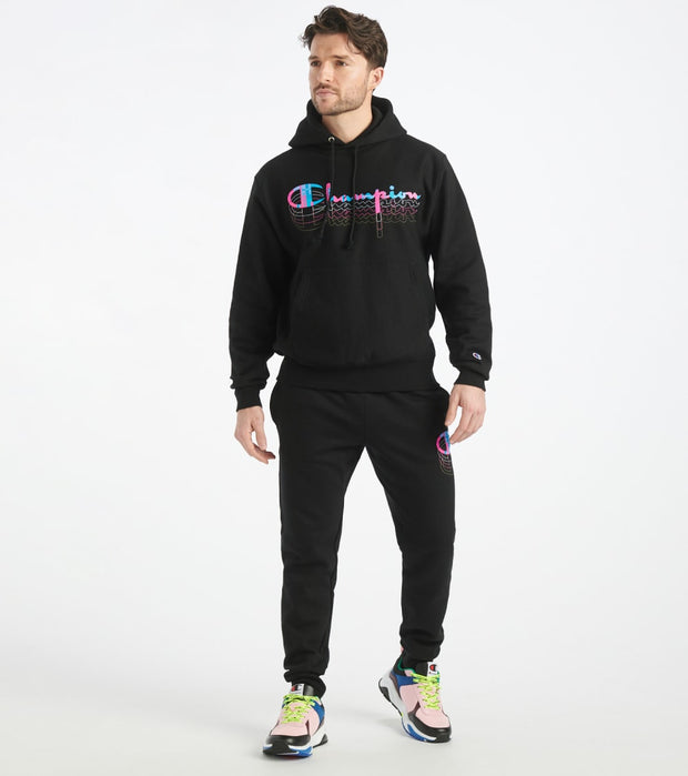 Champion  Reverse Weave Pullover Hoodie  Black - GF68Y08117-BKC | Jimmy Jazz