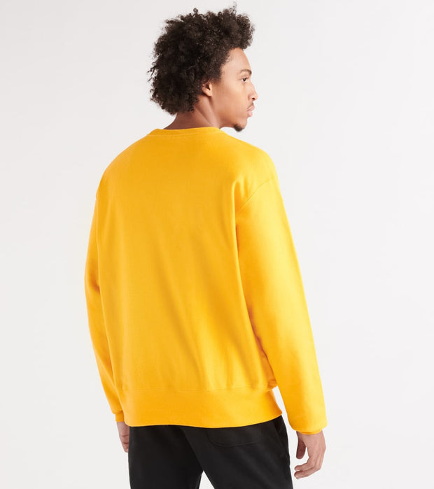 Champion  Reverse Weave LS Crew Oversized   Yellow - GF70Y07954-BYC | Jimmy Jazz