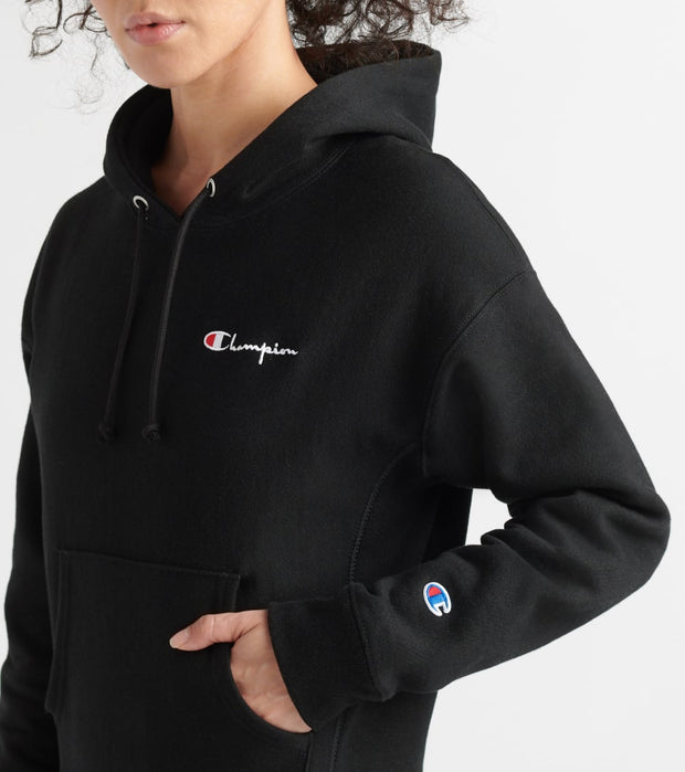 Champion  Reverse Weave Pullover Hoodie  Black - GF757Y08008-003 | Jimmy Jazz
