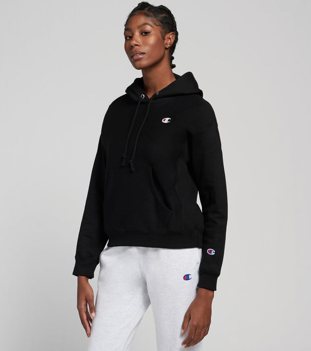 Champion  Reverse Weave Pullover Hoodie  Black - GF857Y06145-003 | Jimmy Jazz
