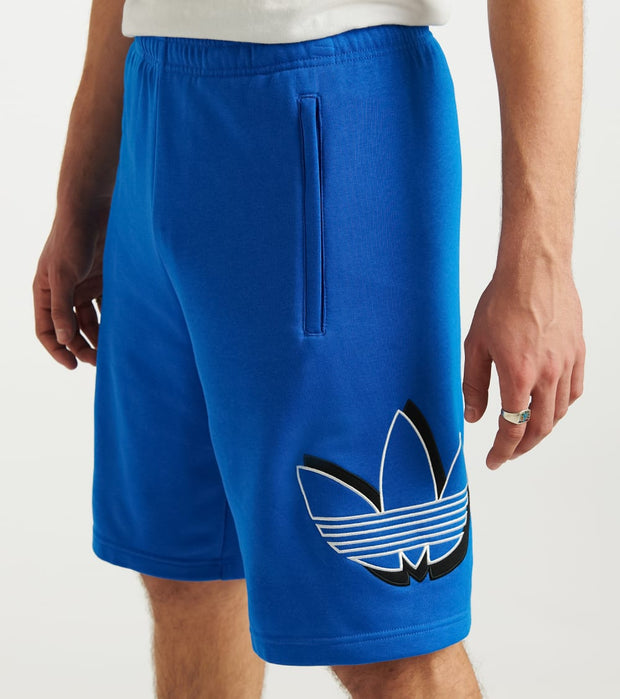 Adidas  Shadow Trefoil Short  Blue - GH5246-430 | Jimmy Jazz