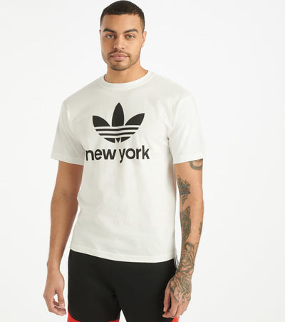 Adidas  Stacked NYC Tee  White - GH6818-100 | Jimmy Jazz