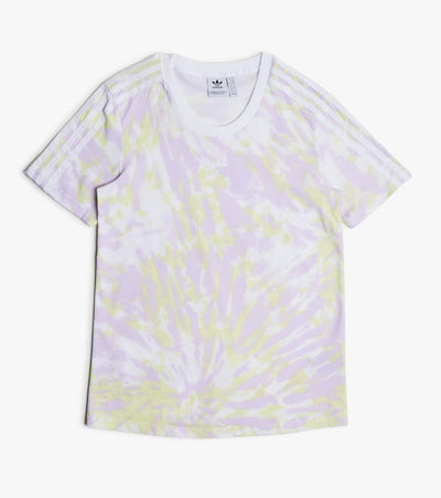 Adidas  Adi Tie Dye Tee Shirt  Yellow - GL1978-997 | Jimmy Jazz