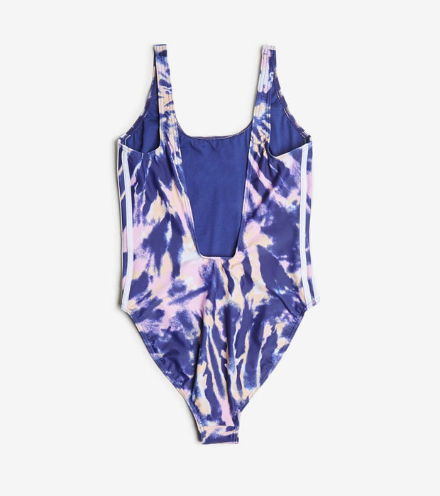 Adidas  Adi Tie Dye Tank One Piece Swimsuit  Navy - GL6145-997 | Jimmy Jazz