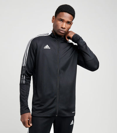 Adidas  Tiro 21 Double Knit Track Jacket  Black - GM7319-001 | Jimmy Jazz