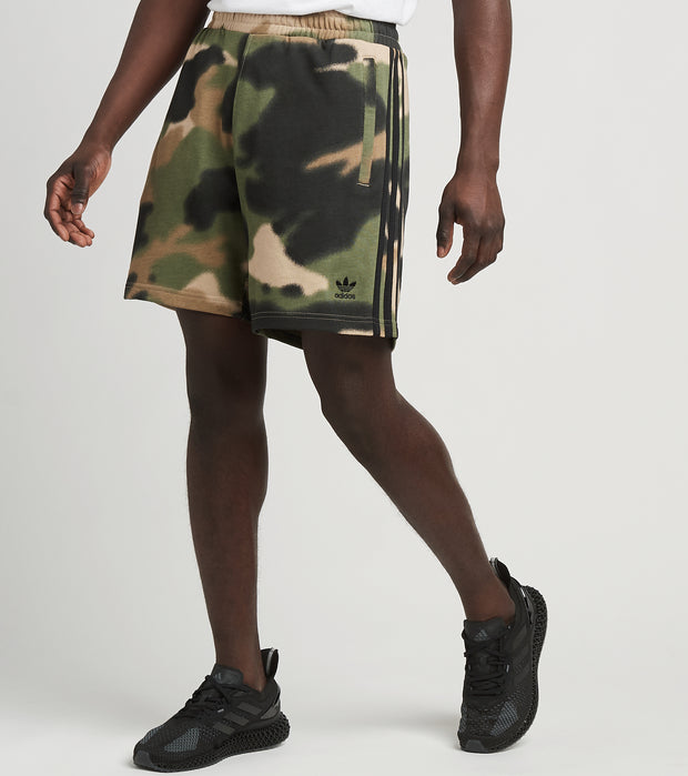 Adidas  Camo All Over Print FT Shorts  Camo - GN1887-308 | Jimmy Jazz