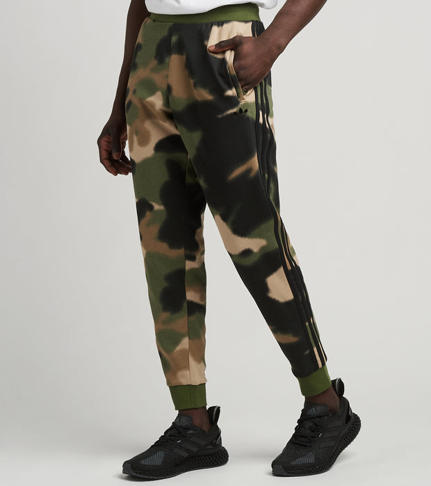 Adidas  Camo All Over Print FT Pants  Black - GN1894-308 | Jimmy Jazz