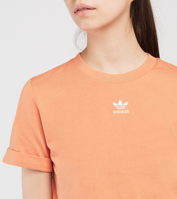 Adidas  Foundation Crop Top  Red - GN2805-842 | Jimmy Jazz
