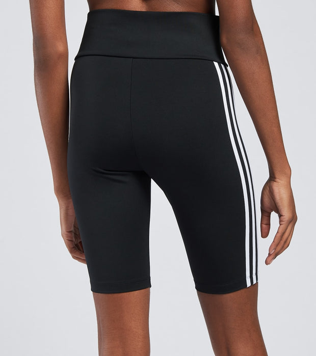 Adidas  High Waisted Short Tights  Black - GN2842-001 | Jimmy Jazz