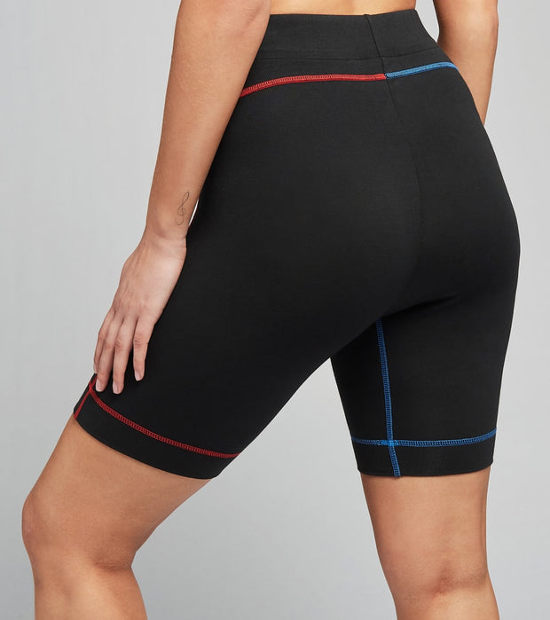 Adidas  Artemis Tricolor Short Tights  Black - GN2877-001 | Jimmy Jazz