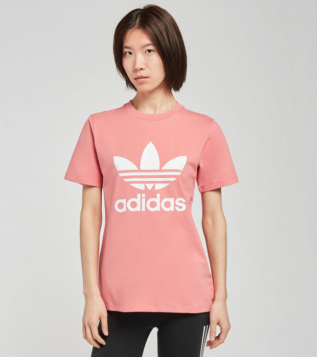 Adidas  Trefoil Tee  Red - GN2907 | Jimmy Jazz