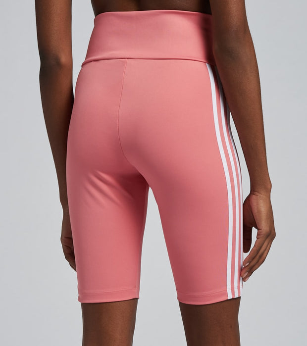 Adidas  High Waisted Short Tights  Pink - GN2922-650 | Jimmy Jazz