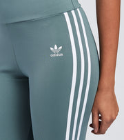 Adidas  High Waisted Short Tights  Blue - GN2923-468 | Jimmy Jazz
