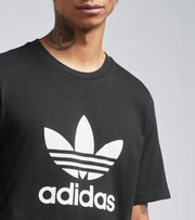 Adidas  Trefoil Short Sleeve Tee  Black - GN3462-001 | Jimmy Jazz
