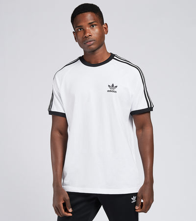 Adidas  3 Stripes Short Sleeve Tee  White - GN3494-100 | Jimmy Jazz