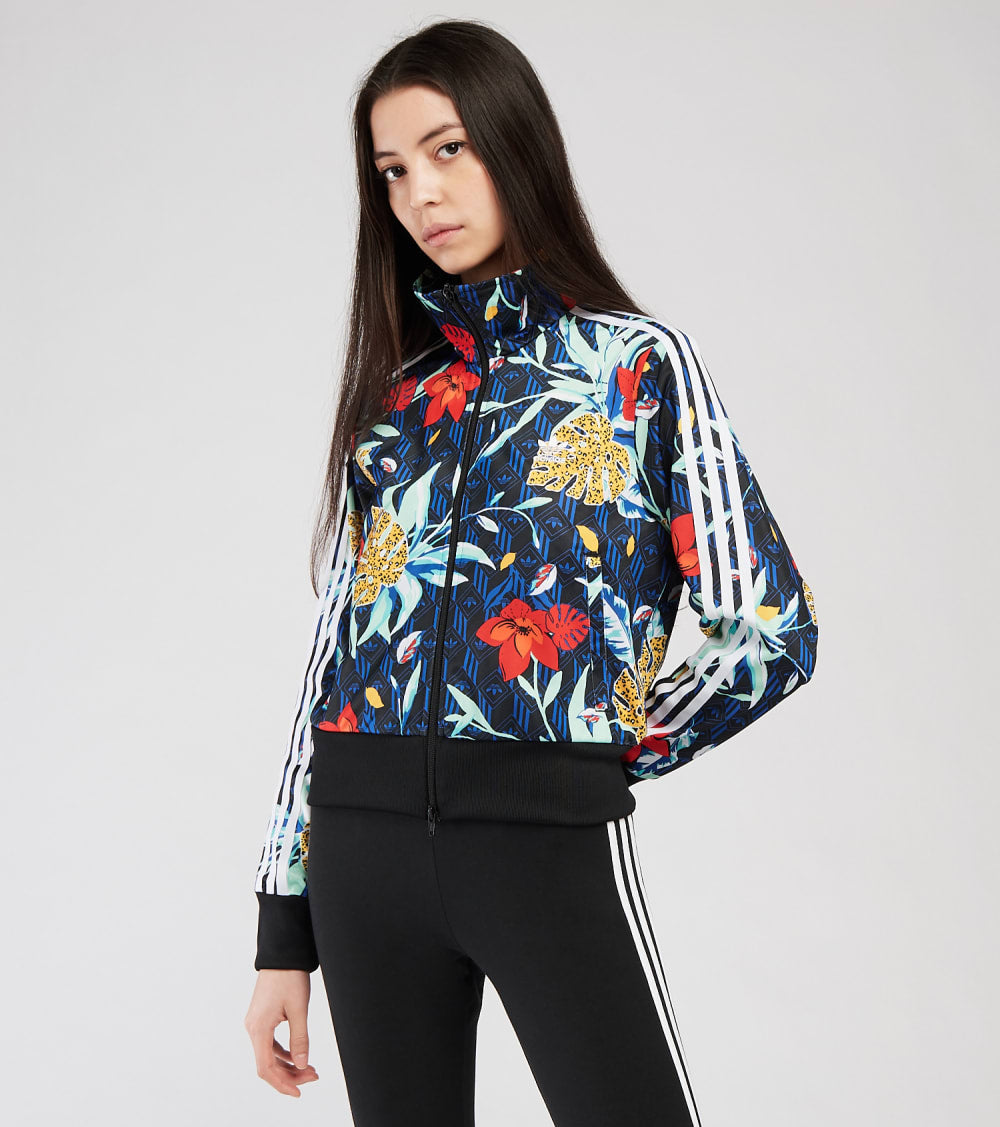 Adidas  Her Studio Floral Track Top  Multi - GN3533-997 | Aractidf