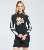 Adidas  HER Studio Floral Dress  Black - GN3598-001 | Jimmy Jazz