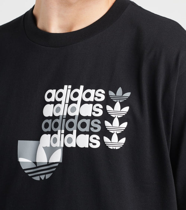 Adidas  Forum Short Sleeve Tee  Black - GN3867-001 | Jimmy Jazz