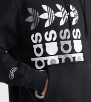 Adidas  Forum Pullover Hoodie  Black - GN3872-001 | Jimmy Jazz